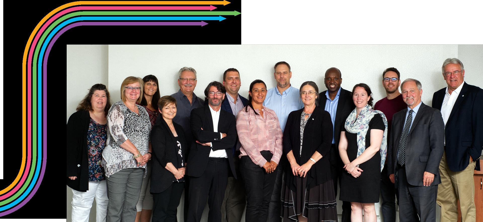 Le conseil d'administration de la SSF, 2019-2020