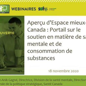 Espace mieux être Canada_webinaire
