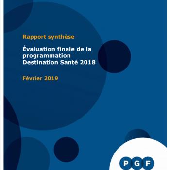 Rapport synthèse - programmation 2018