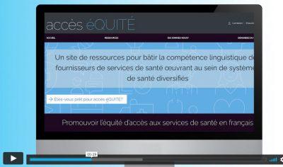 Vidéo de présentation de Accès éQUITÉ